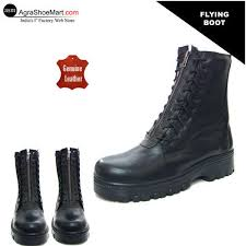s leather boots shopping india leather lightweight flying boot for pilots at rs 3200 pair
