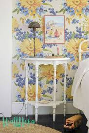 206 best floral print removable wallpapers images on pinterest