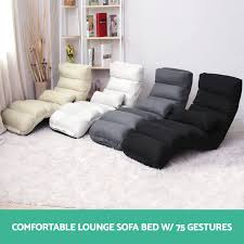 Lounge Sofa Bed Floor Recliner Folding Chaise Chair Adjustable - Sofa bed lounges