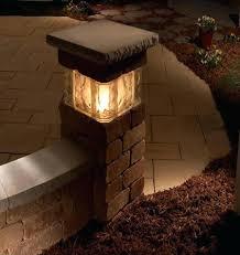 Patio Pillar Lights Outdoor Pillar Lights Column Lights Outdoor Modern Solar Ls Led