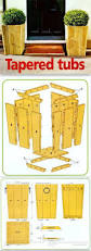 Standing Planter Box Plans by Best 25 Planter Box Plans Ideas On Pinterest Pallet Garden