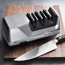 Kitchen Knives Sharpening Chef Schoice 1520 Angle Select Electric Knife Sharpener Williams