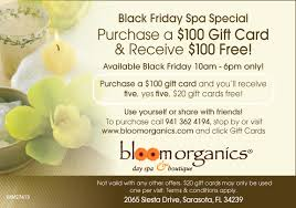 thanksgiving spa specials