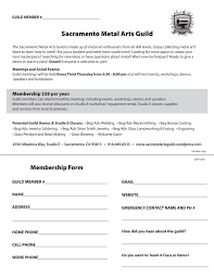membership sacramento metal arts guild
