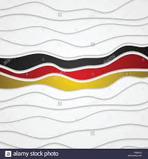 Germany Flag Colors Corporate Wavy Bright Abstract Background German Flag Colors