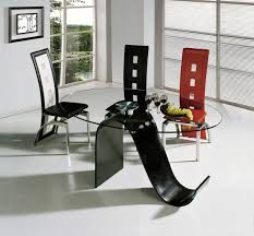 Best Dining Table Chair Images On Pinterest Dining Room - Black and white contemporary dining table