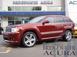 jeep acura pre owned 2007 jeep grand cherokee srt8 suv in bridgewater p6920s