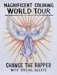 chance the rapper announces magnificent coloring world tour
