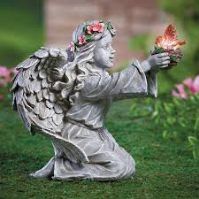 14 best solar images on garden statues