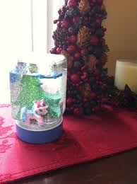 rockabye butterfly we made our own snow globe