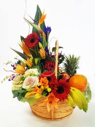 fruit flower arrangements best 25 fruit flower basket ideas on garden outdoor