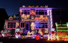 why do we put up lights at christmas hedge end neighbours join forces to transform residential close into