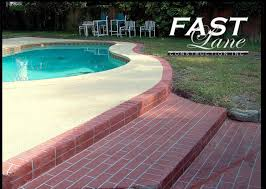 fast lane construction natural stone pool decks and patios