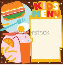 25 kids menu templates free design ideas creative template