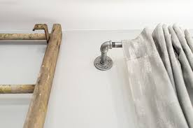 commercial industrial curtain rods hardware design ideas u0026 decors