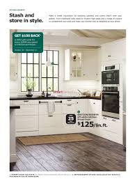 ikea the kitchen event flyer october 30 to december 11