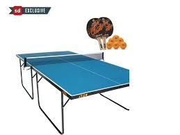 Table Tennis Dimensions Stag Compact Table Tennis Table Full Size Table Buy Online At