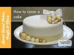 How To Make Plastic Icing Decorations Cover A Cake With Marzipan U0026 Fondant How To Decorate A Fruit