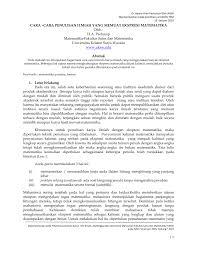 daftar pustaka merupakan format dari cara cara penulisan ilmiah yang memuat pdf download available