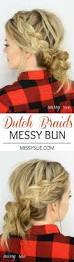 best 25 braided messy buns ideas on pinterest cute hairstyles