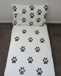paw print sheets paw print fitted sheet by alijoykids on etsy just me