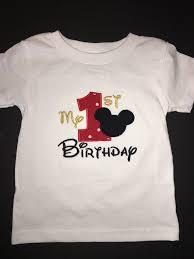 mickey mouse birthday shirt birthday shirts embroidered cuties