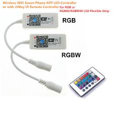led strip lights remote wireless wifi smart phone app led controller or with 24key ir