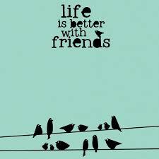 simple sayings friends 12 x 12 paper