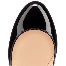 christian louboutin fifi patent leather black louboutin heels