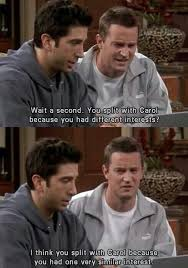 Friends Show Meme - friends 1994 meme one very similar interest on bingememe