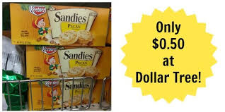 dollar tree keebler sandies pecan cookies only 0 50 become a