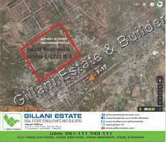 Islamabad Map E 17 Faisal Residencia Islamabad Pakistangillani Estate U0026 Builders