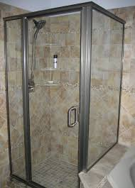 How To Install Bathroom Tiles In A Shower 30 Pictures Of Porcelain Tile In A Shower