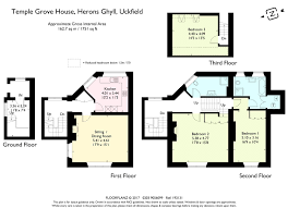Groombridge Place Floor Plan by 3 Bed Property For Sale In Temple Grove House Herons Ghyll