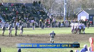 2013 rhs football thanksgiving day revere vs winthrop