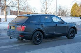 bentley bentayga 2016 price spied bentley bentayga caught winter testing in sweden