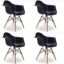 Esszimmerstuhl Kunststoff 4x Stühle Design Eiffel Stuhl Daw Esszimmerstuhl Retro Bürostuhl