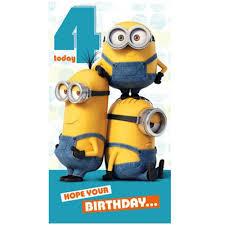 minions birthday card u2013 gangcraft net