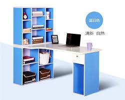 Dorm Desk Bookshelf Table Corner Computer Desk Student Study With A Home Desktop