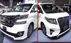 best toyota model best luxury vans toyota alphard vs toyota vellfire 2016 2017