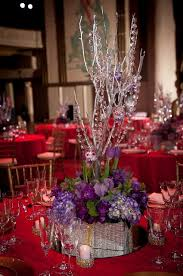 another view of center pieces another view of the silver manzanita branch wedding centerpiece of