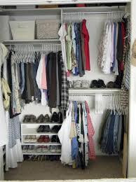 organize small closet on a budget home design ideas