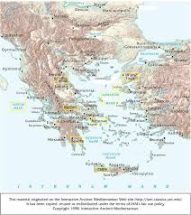 Ithaca Greece Map by Maps Map Ancient Greece