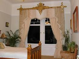 bedroom curtain ideas small rooms also wall mounted chrome round