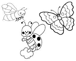 99 dessins de coloriage Insectes Jardin à imprimer