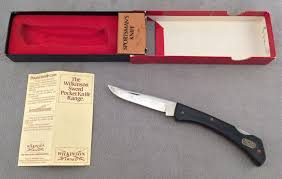 wilkinson sword kitchen knives vintage wilkinson sword sportsman s stainless inox knife with box