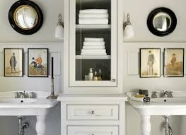 Cabinets For Bathrooms 28 Cabinet Between Bathroom Sinks Master Bathroom Vanity Cabinet