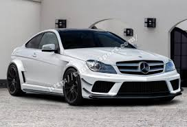 mercedes c class coupe tuning kit for mercedes c class w204 coupe tuning sport com