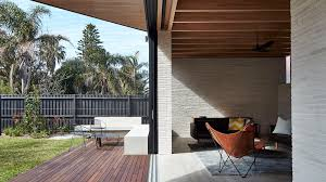 brick architecture and design dezeen andrew burges sydney house pairs pale brickwork with blackened wood
