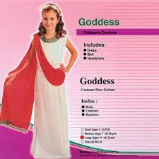 Goddess Halloween Costume Kids Childrens Goddess Emperors Costumes Fast Fancy Dress